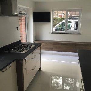 electrical rewiring for a new kitchen Ferndown, Dorset