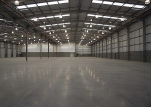 Industrial warehouse electrical installation