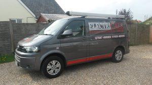 Electricall Van - electrical contractors Poole, Wareham & Dorset
