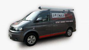 Electricall van - expert electrical services in Poole, Wareham & Dorset